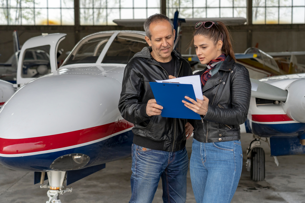 Touring a flight school is a great opportunity to see it up close and get your questions answered.