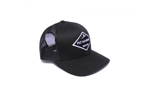 FLT Patch hat. Black on black.