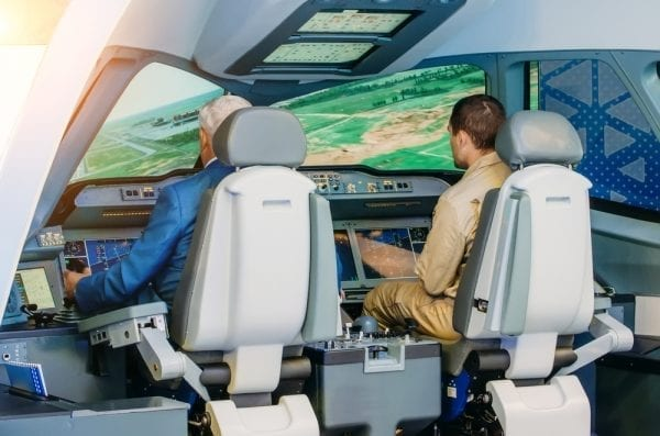 Flight simulators are a critical part of a pilot's training, and can help you improve real-world flying skills